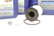 VW Audi Oil Change Kit 5W-40 - Liqui Moly KIT-079198405E.8L