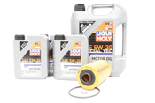 BMW Oil Change Kit 5W-30 - Liqui Moly 11427510717KT1.LM