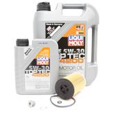 VW Audi Diesel Oil Change Kit 5W-30 - Liqui Moly KIT-03N115562.6L