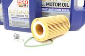 VW Audi Oil Change Kit 5W-40 - Liqui Moly KIT-06E115562H.7L
