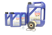 VW Audi Oil Change Kit 5W-40 - Liqui Moly KIT-077115562.8L