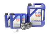 VW Audi Oil Change Kit 5W-40 - Liqui Moly KIT-06A115561B.8L