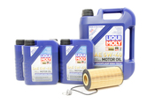 VW Audi Oil Change Kit 5W-40 - Liqui Moly KIT-079198405D.9L