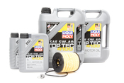 VW Audi Diesel Oil Change Kit 5W-40 - Liqui Moly KIT-07Z115562.12L.BKW