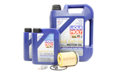 Mercedes Oil Change Kit 5W-40 - Liqui Moly 2701800109.7L
