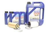 Mercedes Oil Change Kit 5W-40 - Liqui Moly 2781800009.8L.V2