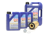 VW Audi Oil Change Kit 5W-40 - Liqui Moly KIT-079198405A-8L