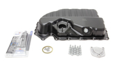 Audi VW Oil Pan Kit - Vaico / Genuine VW Audi 06J103600AFKT