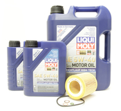 BMW Oil Change Kit 5W-40 - Liqui Moly 11427854445KT1.LM