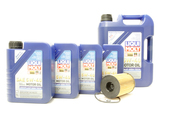 BMW Oil Change Kit 5W-40 - Liqui Moly 11427848321KT.LM