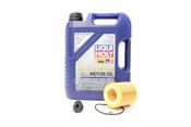BMW Oil Change Kit 5W-40 - Liqui Moly 11427640862KT1.LM