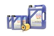 BMW Oil Change Kit 5W-40 - Liqui Moly 11427511161KT.LM