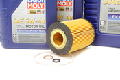 BMW Oil Change Kit 5W-40 - Liqui Moly 11427511161KT.LM