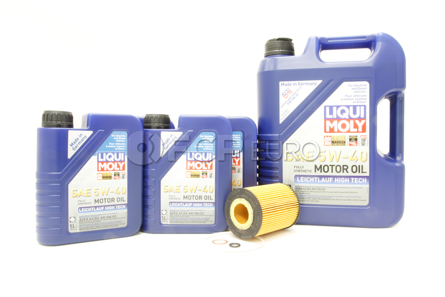 BMW Oil Change Kit 5W-40 - Liqui Moly 11427511161KT2.LM