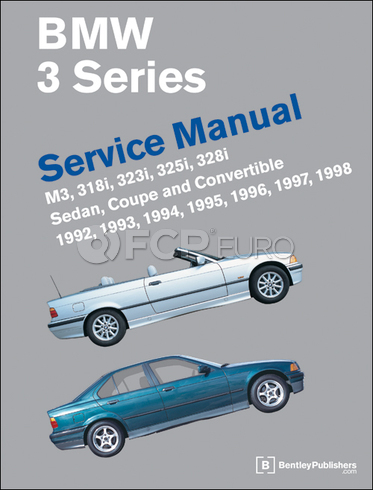 BMW Repair Manual (E36) - Bentley B398