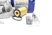 Audi VW Oil Pan Kit with Oil - OEM / Genuine VW Audi 06F103601LKT2