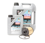 Volvo Oil Change Kit 0W-20 - Liqui Moly KIT-521804