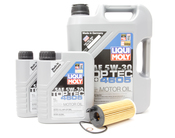 BMW Diesel Oil Change Kit 5W-30 - Liqui Moly 11428507683KT.LM.7L.4605