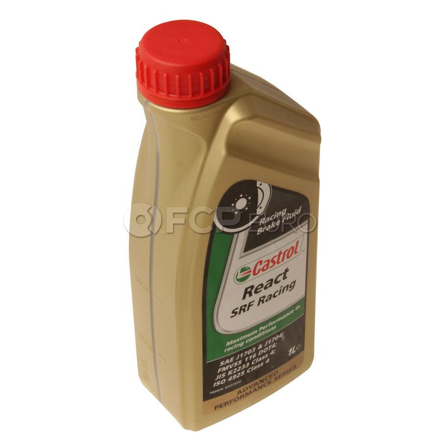 DOT 4 React SRF Racing  Brake Fluid (1 Liter) - Castrol 12512