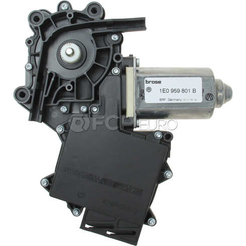 VW Power Window Motor Front Left (Cabrio) - Genuine VW Audi 1E0959801B
