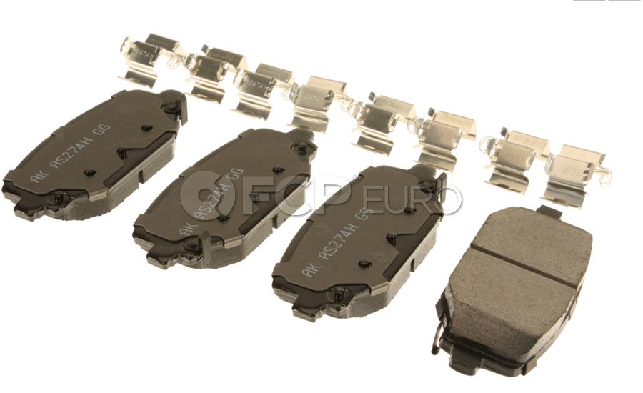 VW Brake Pad Set - Akebono 7B0615601C