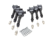 Porsche Coil Pack & Spark Plug Kit (911 Turbo) - Beru 509644