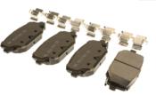 VW Brake Pad Set - Akebono 7B0698151E