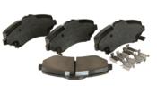 VW Brake Pad Set - Akebono 7B0698151A