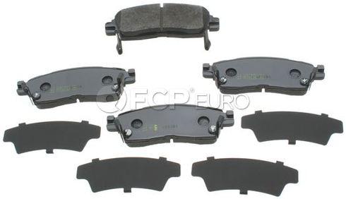 Saab Brake Pad Set (9-7x) - Akebono ACT883