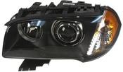 BMW Headlight Assembly w/o Adaptive Left (X3 E83) - Magneti Marelli 63123418397