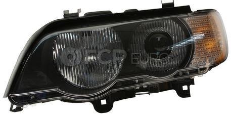 BMW Xenon Headlight Assembly Left (X5 E53) - Hella 63126930239