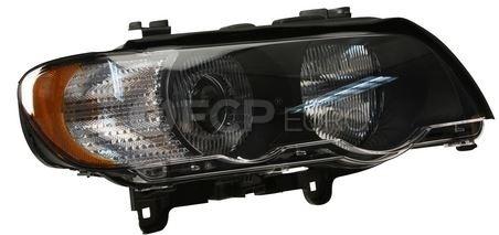 BMW Xenon Headlight Assembly Right (X5 E53) - Hella 63126930240