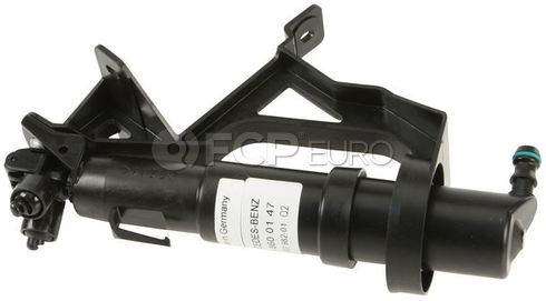 Mercedes Headlight Washer Nozzle Left - Hella 2158600147