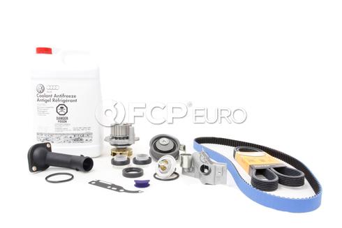 Audi VW Timing Belt Kit & G13 Coolant (Gates Heavy Duty Belt) - 524583