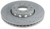 Audi VW Brake Disc - Zimmermann Sport  8E0615301Q