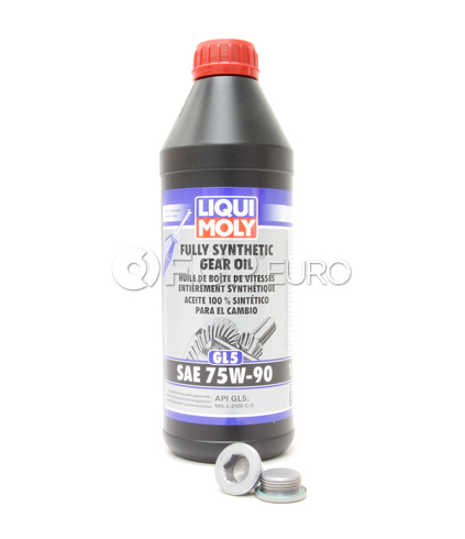 BMW 75W90 Differential Service Kit  - Liqui Moly 33117525064KTLM