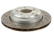 BMW Brake Disc - Zimmermann 34212282303