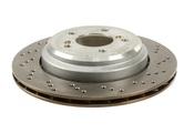 BMW Brake Disc - Zimmermann 34112282445