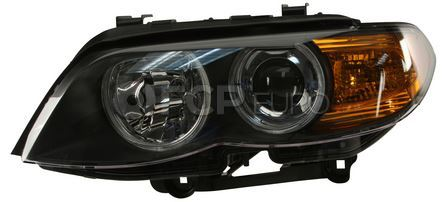 BMW Bi-Xenon Headlight Assembly Left - Hella 63117166799