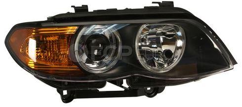 BMW Bi-Xenon Headlight Assembly Right - Hella 63117166800