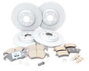Audi VW Brake Kit - Zimmermann/Genuine Audi B8BRAKEZIMM
