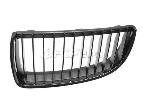 BMW Ornam.Grille High-Gloss Black Fr.Left (M Performance) - Genuine BMW 51712151895