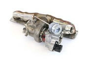 BMW Turbocharger With Exhaust Manifold - Borg Warner 11657636424