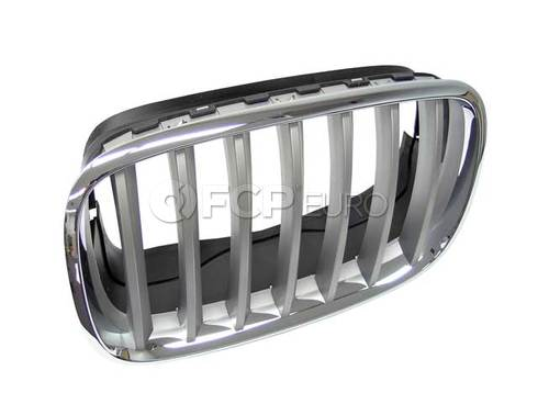 BMW Kidney Grille Left (X5 X6) - Genuine BMW 51137185223