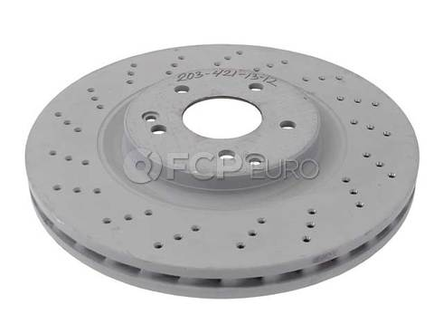 Mercedes Brake Disc - Genuine Mercedes 2034211312