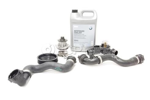 BMW Water Pump and Thermostat Replacement Kit (E83) - 11517509985KT4