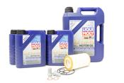 Mercedes Oil Change Kit 5W-40 - Liqui Moly 0001802609.9L.AMG