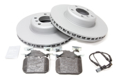 BMW Brake Kit - Zimmermann 34116792223KTF3
