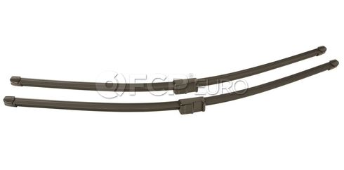 Mercedes-Benz Windshield Wiper Blade Set (C230 C250 C350) - Genuine Mercedes 2128201900
