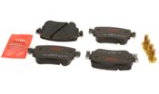 Audi VW Brake Pad Set - TRW 7N0698451A